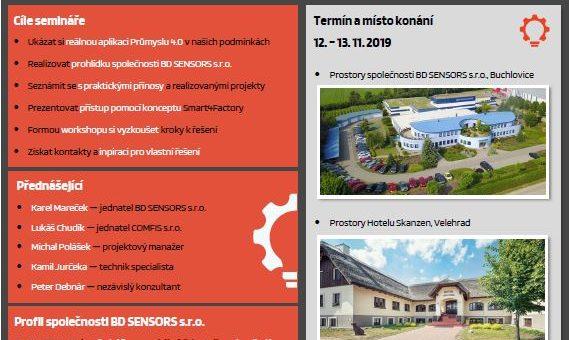 Blíží se seminář: Východiska Průmyslu 4.0